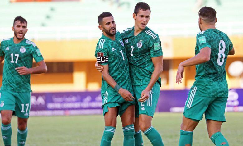 المنتخب الوطني الجزائري