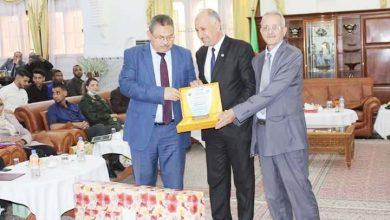 تكريم أبطال ولاية بشار لذوي الاحتياجات اختصة