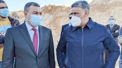وزير السكن محمد طارق بلعريبي و والي وهران